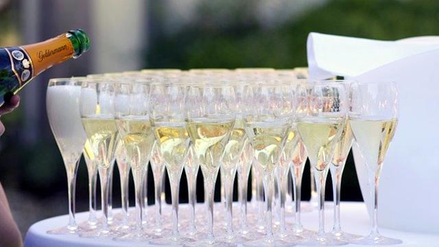 Gasthof Goldene Krone – Sektgläser zu Silvester